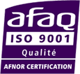 Afaq - Certification Iso 9001